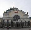 Железнодорожные вокзалы в Петродворце